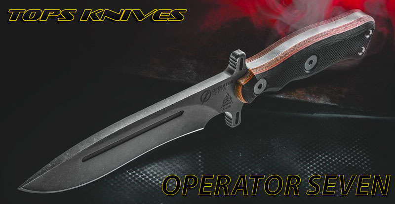 Operator 7 Tops Knives