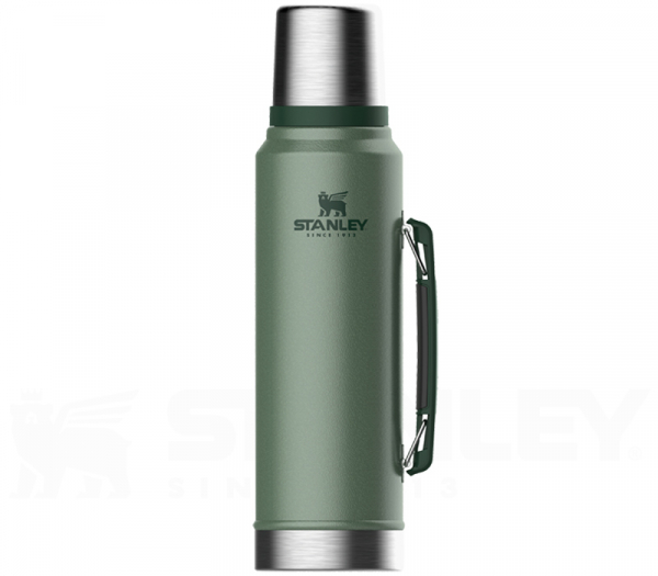 Classic Isolierflasche green 1,0 l