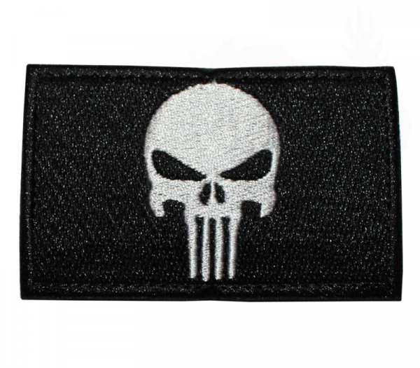 Punisher Patch Black