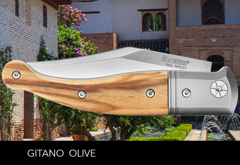 LionSteel Gitano Olivenholz Spain