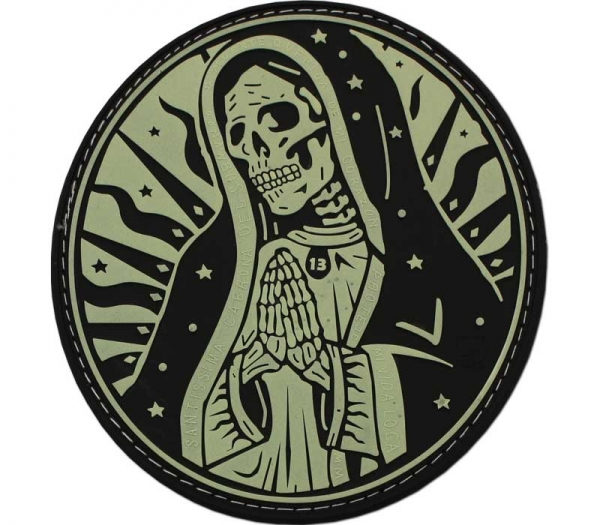 Santa Muerta Gid Patch