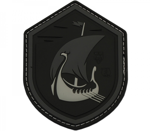Dragon Ship Black Patch