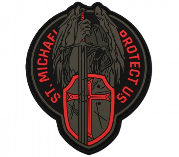 St. Michael Red Patch