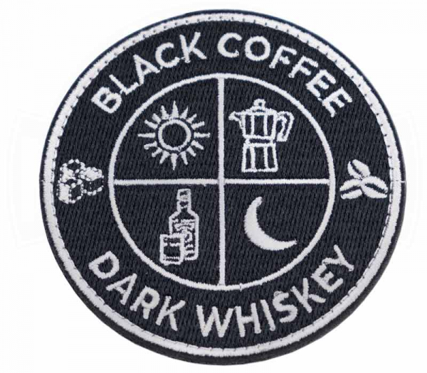 Patch Black Coffee / Dark Whiskey