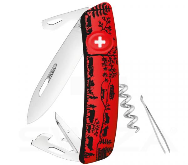 Heimat- Swiza Taschenmesser- Da wo deine Wurzel sind